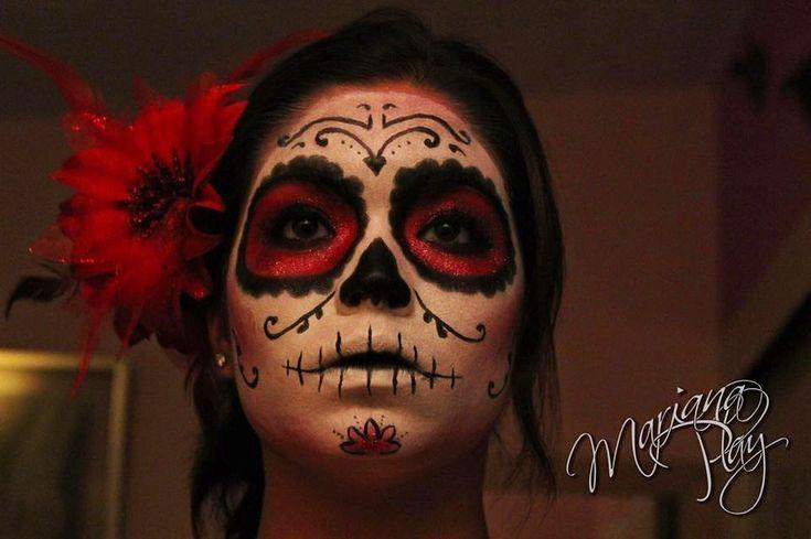 Peluquería y estética joven: La Catrina Mexicana: 5 Disfraces de Halloween