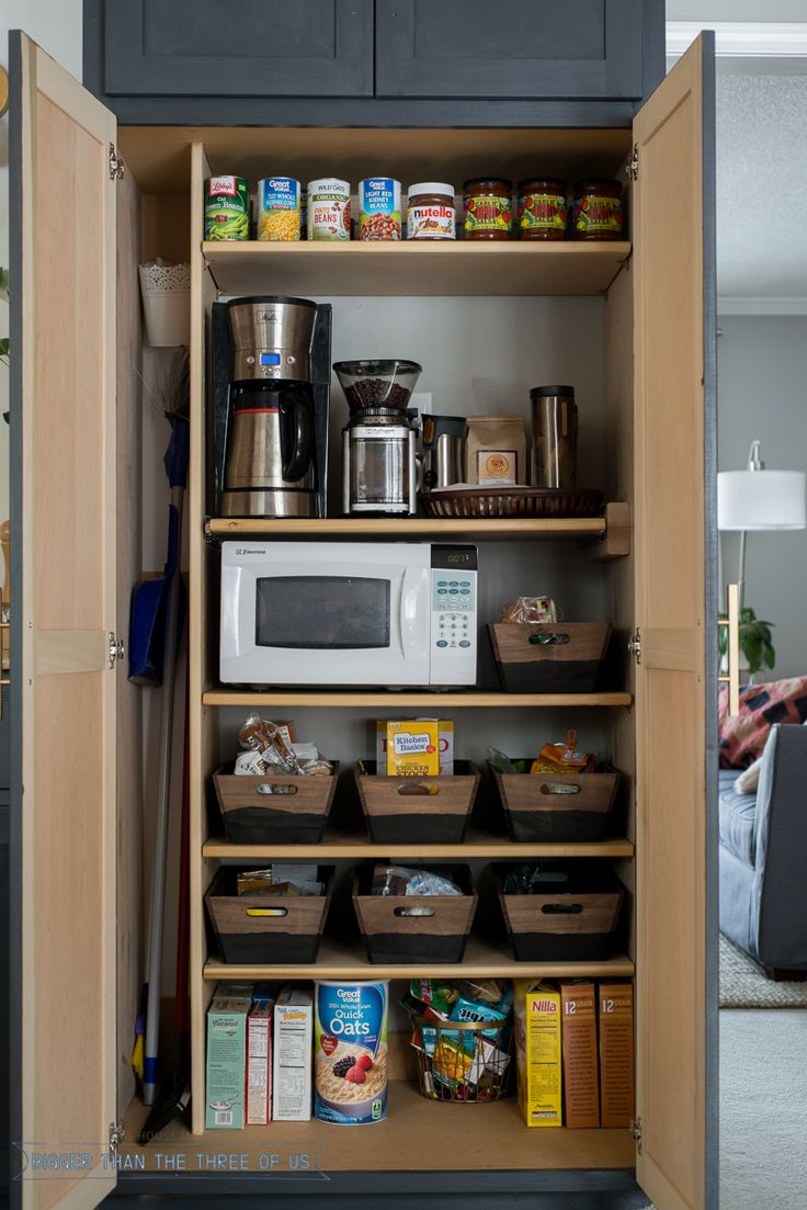 Best 25 Organize Small Pantry Ideas On Pinterest
