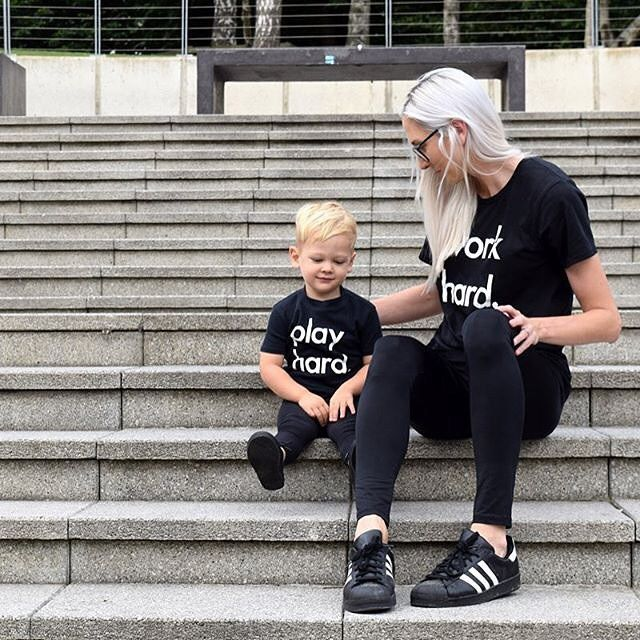 30% off Nor-Folk Tees www.jellydoor.com.au Fiona and Stanley from @nor_folk look amazing in their 'work hard' and 'play hard' black tees. Work Hard Tee is now 20% off so get twinning with your little people.  www.jellydoor.com.au #nor_folk #tee #onlineshop #coolkids #twinning #kidsfashion #kidsofinstagram #ministyle #fashionkids #minimal #blackandwhite #ig_kids #ootd #minimalist #childrenofinstagram #jellydoor