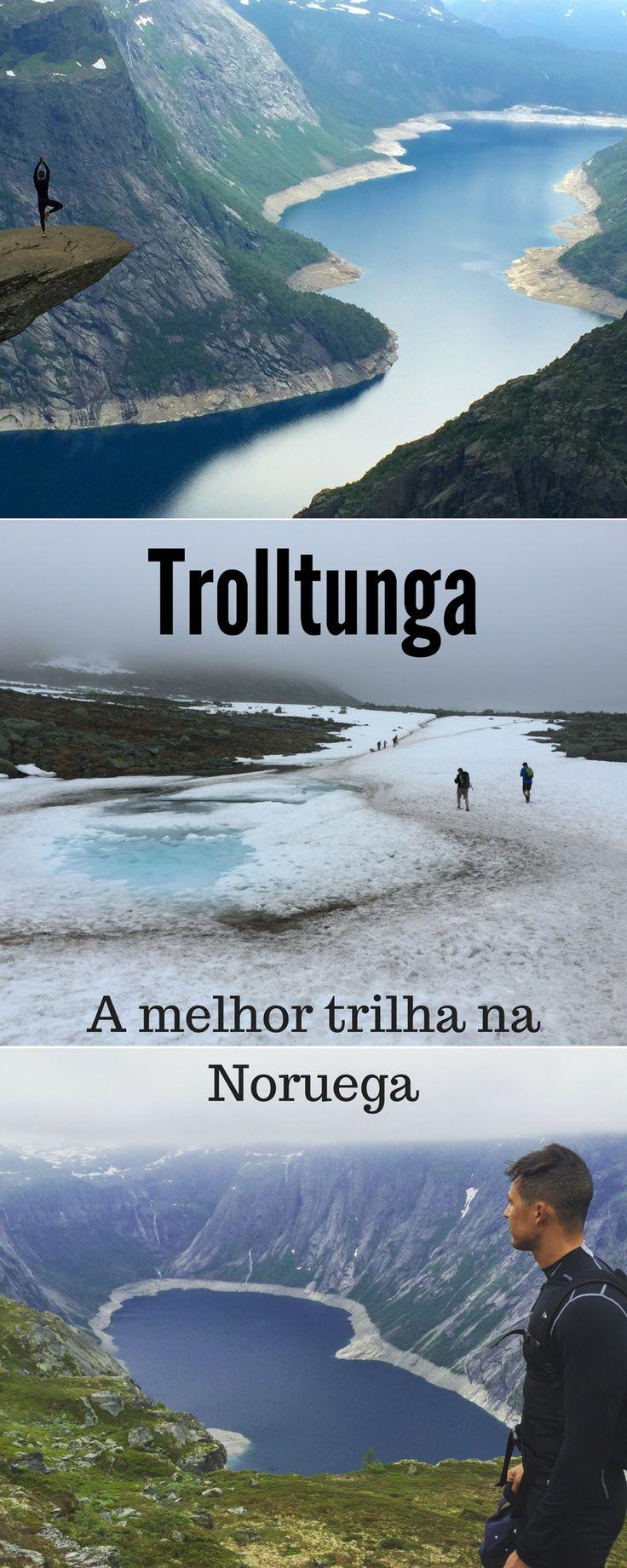 Todas as informações que você precisa para fazer a trilha Trolltunga, a melhor trilha na Noruega.