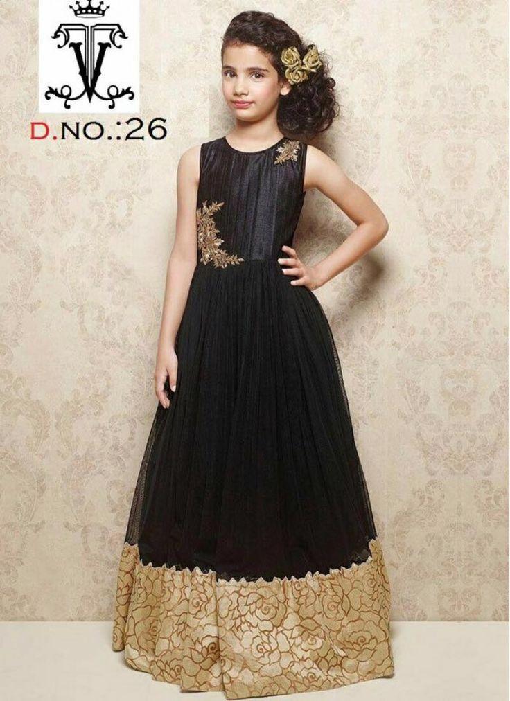 Baby Black Deigner kids Gown