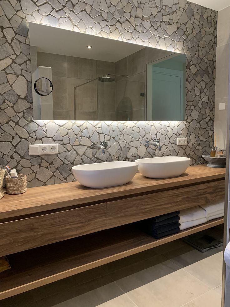 Badezimmer Komplett In Modernem Betonoptik Fliesen Individuelle Mobel Und Sanitar Badezimmer Komplett Badezimmer Innenausstattung Modernes Badezimmer