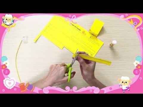 紙の猫を作る Make A Paper Cat Crafts For Kids かわいい工芸品 Kids Crafts Ideas 私をここで愛してください:  ©かわいい工芸品 – Hachichan.