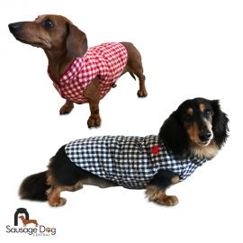 Discover the latest and cutest sausage dog clothing including dachshund coats and jackets designed specifically for dachshunds. We stock dachshund clothes galore!