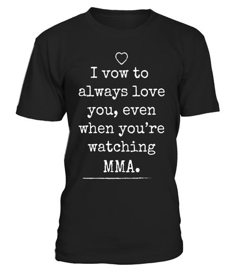 "# Marry MMA Funny MMA Wedding Vow MMA Husband & Wife Fans. .  Special Offer, not available in shops      Comes in a variety of styles and colours      Buy yours now before it is too late!      Secured payment via Visa / Mastercard / Amex / PayPal      How to place an order            Choose the model from the drop-down menu      Click on ""Buy it now""      Choose the size and the quantity      Add your delivery address and bank details      And that's it!      Tags: MMA Fans Mixed Martial…"