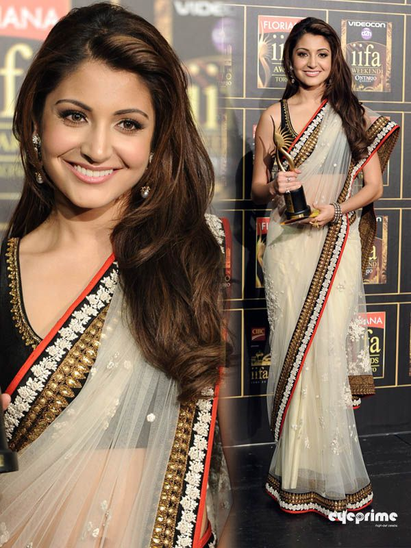 One of my favorite Indian actresses, Anushka Sharma! I love her outfit..def. want one of these (:
