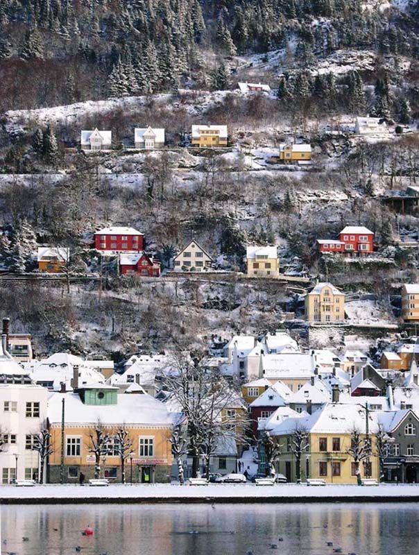 Christmas Eve, Bergen, Norway | Travel & Places | Pinterest
