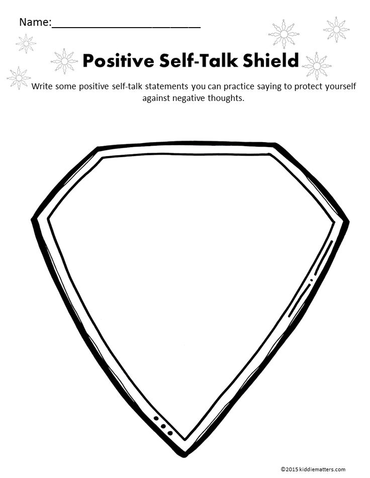 Self Talk Shield                                                                                                                                                     More