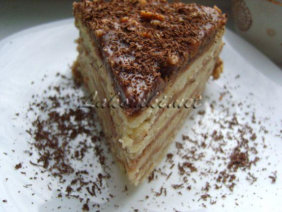 Торт из коржей с кремом