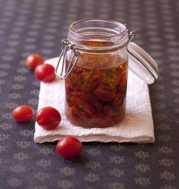 Tomates cerises séchées et confites - Ôdélices : Recettes de cuisine faciles et originales !