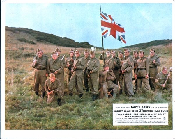 Full Set of 1971 Dads Army Film Lobby Cards, as displayed at the front of Cinemas. Description from devonautographs.com. I searched for this on bing.com/images