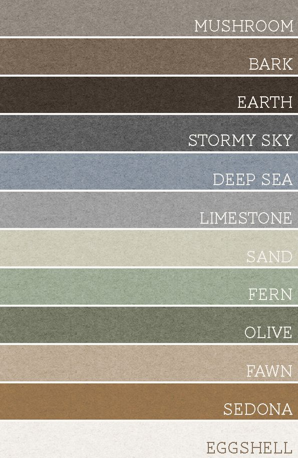 Warm earth toned color palettes. Take any set of 3 of these