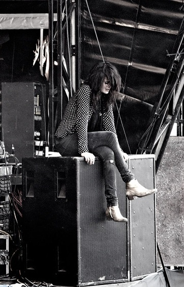 Picture of Alison Mosshart from The Kills