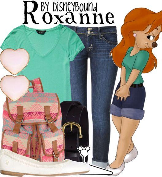Disneybound - a goofy movie Roxanne