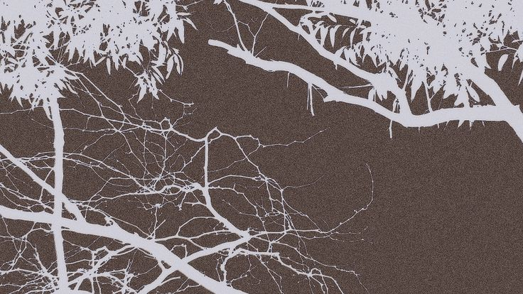 Dark Mauve Branch Outline by Blackbird Art and Design  etsy.com/au/shop/BlackbirdArtDesign