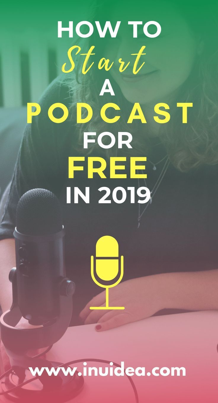 How To Start A Podcast For Free In 2020 Complete Guide Starting A Podcast Podcasts Podcast Tips