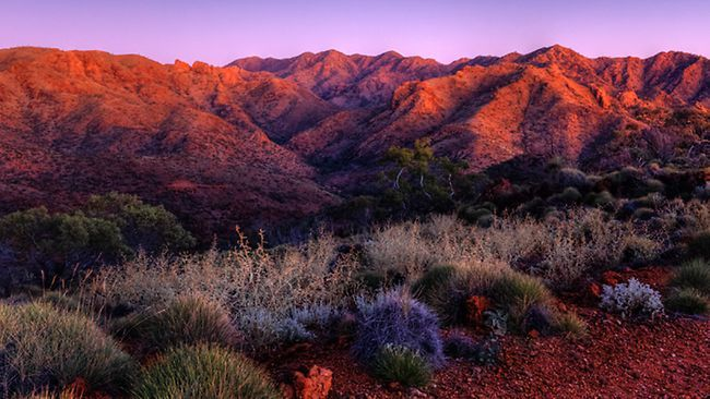 The Armchair at Arkaroola - South Australia. Pic: Arkaroola Wilderness Sanctuary