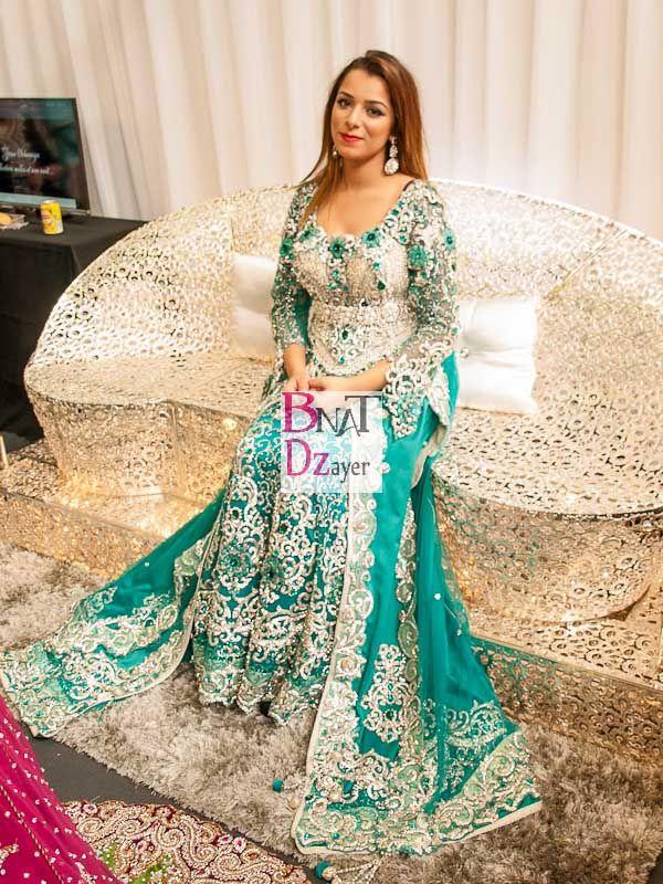 tenues de mariage algerien modeles de caftans karakou et robes d caftan haute couture. Black Bedroom Furniture Sets. Home Design Ideas