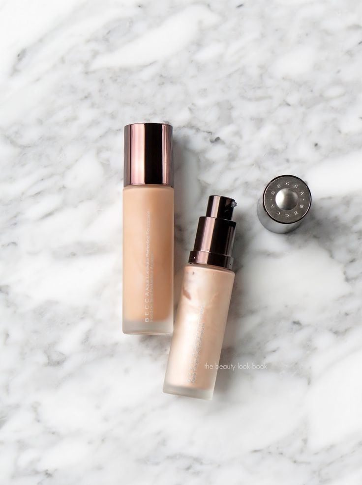 The Beauty Look Book: Becca Aqua Luminous Perfecting Foundation + Backlight Priming Filter Review
