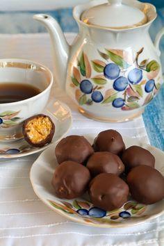 Просто и вкусно: Конфеты тыквенные в шоколаде