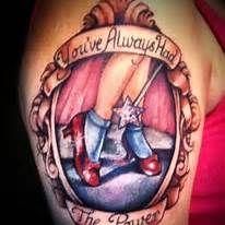 Ruby Slippers Tattoo