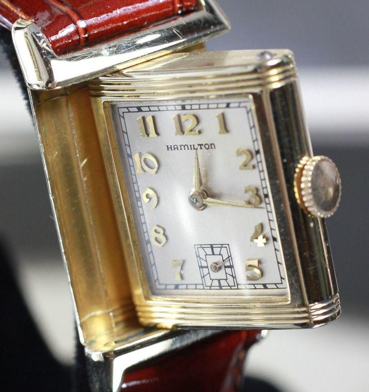 1938 Hamilton Otis Reversible Vintage Men's Watch