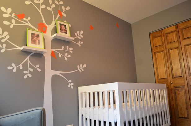 Daddy-Designed Baby's Room - Project Nursery