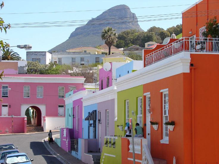The colorful 'Bo Kaap' #CapeTown