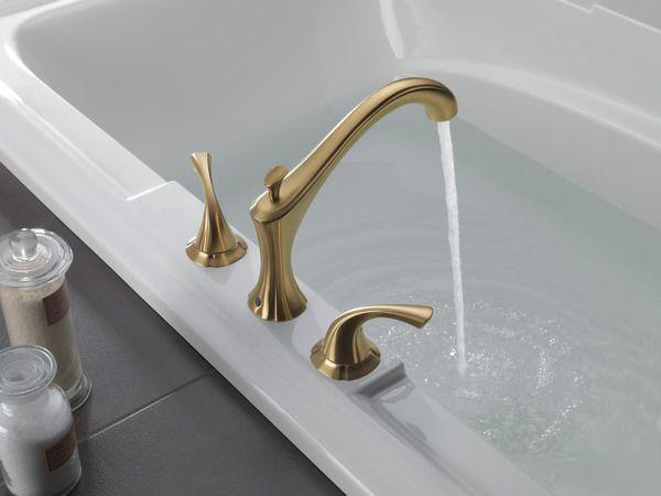 T2792 Cz Delta Faucets Tub Roman Tub Faucets
