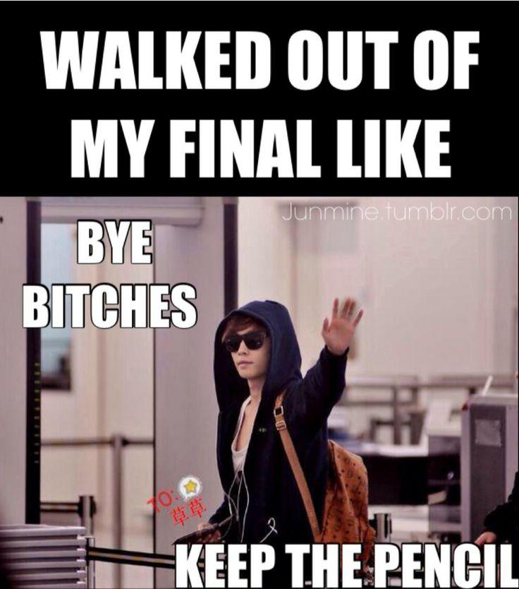 Funny Exam Memes Tumblr : I finished my finals today finally cr junmine nursing