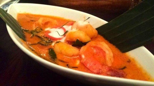 Shrimp Panang Curry from Sabai Sabai in Toronto - http://foodiesinked.com/restaurants/sabai-sabai-thai-toronto/  #food #restaurants