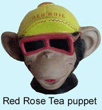 Red Rose Tea Puppet