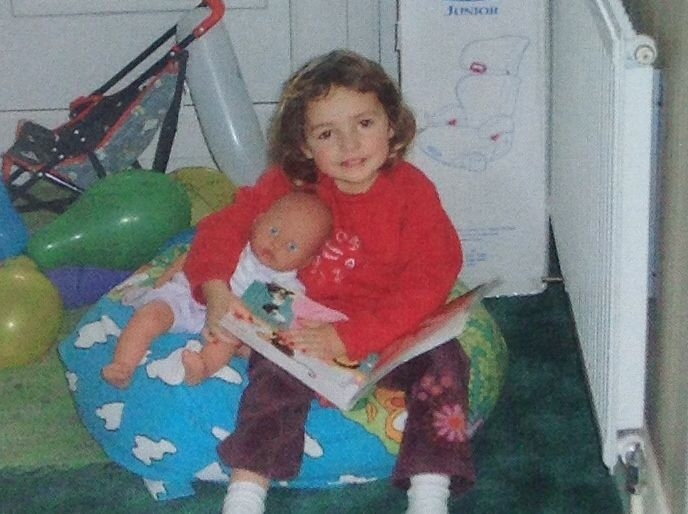 Not the best of pictures but how cute was I???!!!