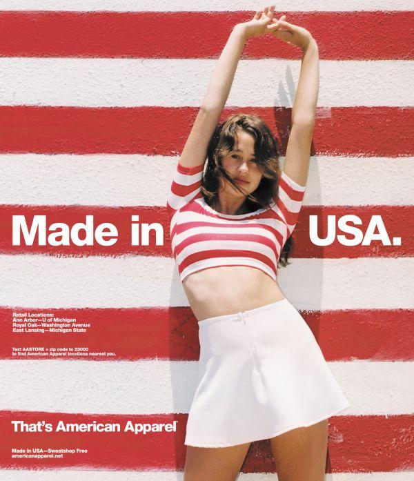 #AmericanApparel
