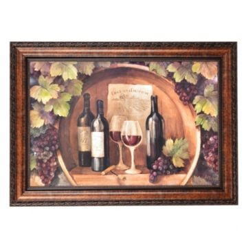 The Winery Framed Art Print From Kirklands... In Our Kitchen/dining Room