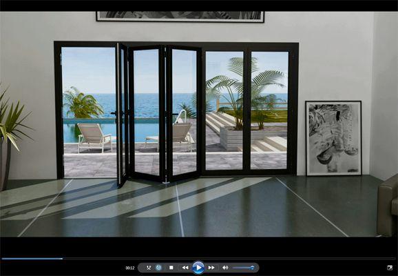 Menuiserie alu baie vitr e accord on recherche google for Dimensions baies vitrees