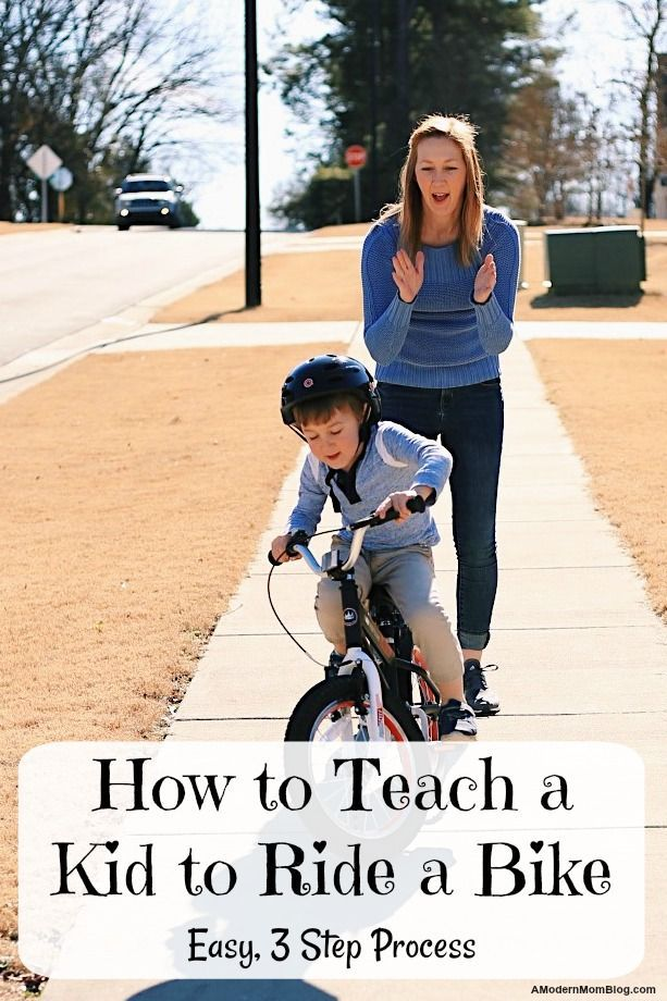 How To Teach Kids To Ride A Bike Without Training Wheels In Three