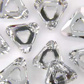 Swarovski 4737 Cosmic Triangle 14mm Crystal CAL V SI Stone