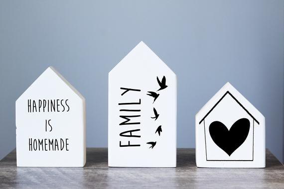 Medium Heart of the Home Barnwood Sign
