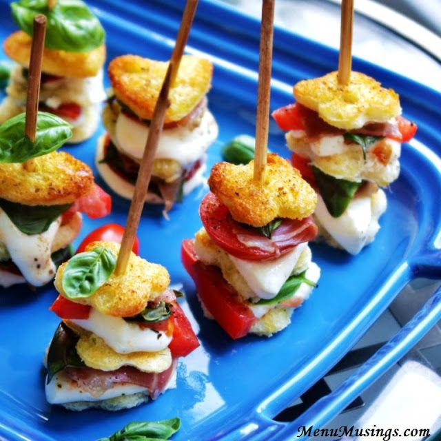 Mozzarella Caprese Skewers by menumusings #Appetizer #Skewers #Caprese
