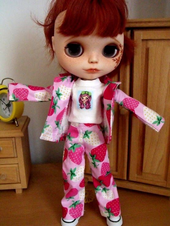 5 x BLYTHEPULLIP clothes Free shipping