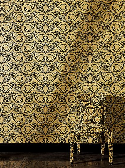 Versace designer wallpaper for the home