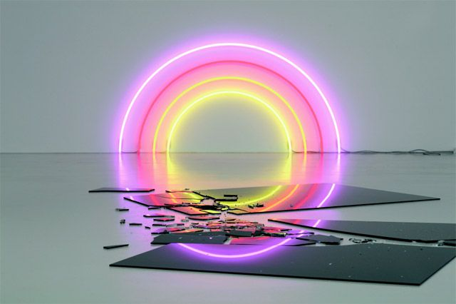 Neon artist Lori Hersberger