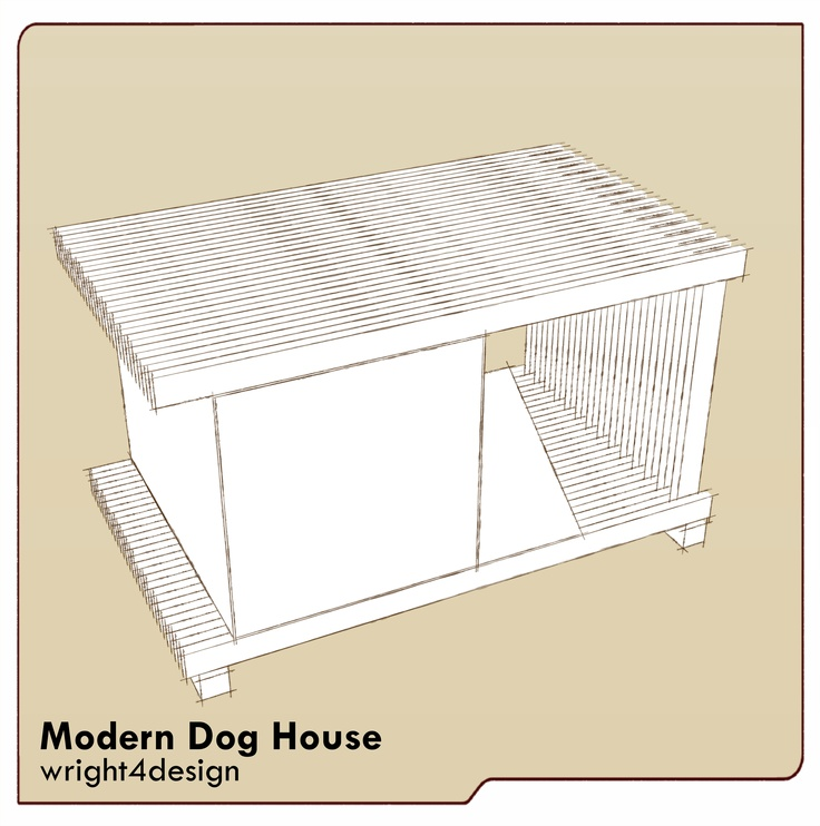12 best images about dog houses on pinterest dark stains for Architecture and design dog house
