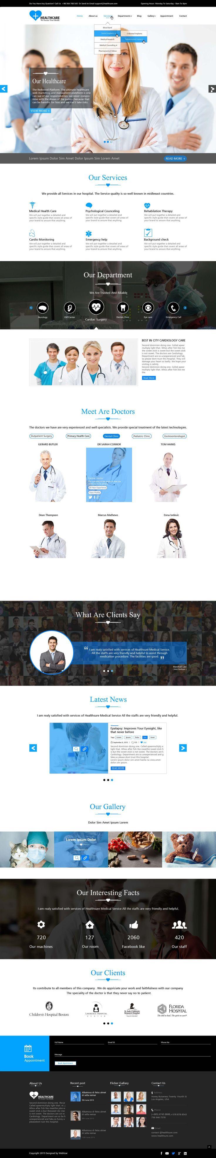 Healthcare Premium WordPress Theme