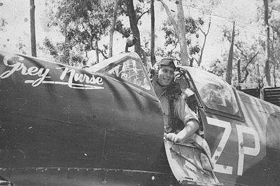 Supermarine Spitfire Mk.VIII, A58-615, coded ZP-Y, 457 Squadron RAAF, pilot F/O Fred J. Inger, Morotai, 1944
