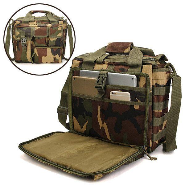Outdoor Sport Laptop Camera Mochila Men Messenger Bag Travel Tactical Multifunction Bag   - Banggood Mobile