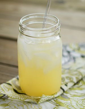 Good Girl Moonshine - Ingredients: - 1 to 2 tablespoons apple cider vinegar (preferably one with mother) - 1 teaspoon ground ginger (see Note) - 2 to 4 doonks Pure Stevia Extract,  or 2 to 3 teaspoons Super Sweet Blend, or to taste - Extracts of choice (optional; for different flavors) - Water and ice cubes