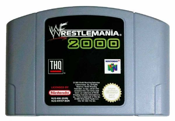 Buy WWF Wrestlemania 2000 N64 Australia
