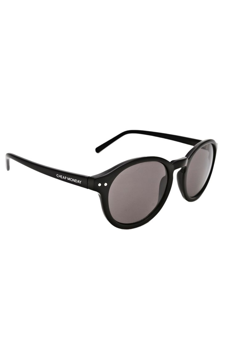 Cheap Monday Circle Sunglasses in Black